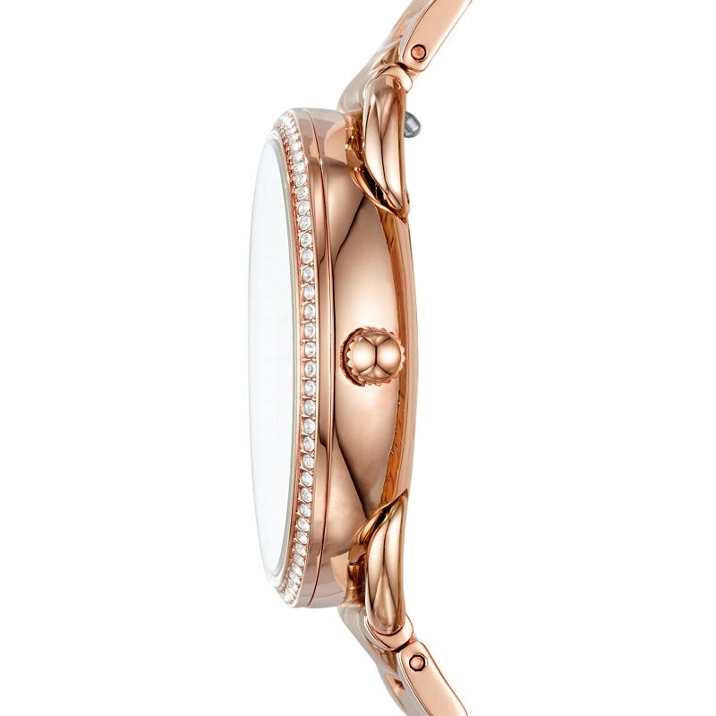Tailor Multifunction Rose Gold-Tone Stainless Steel Watch