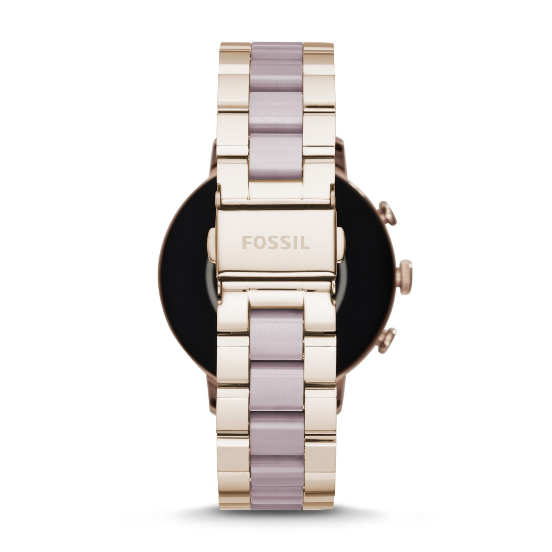 Gen 4 Smartwatch - Venture HR Pastel Pink Stainless Steel