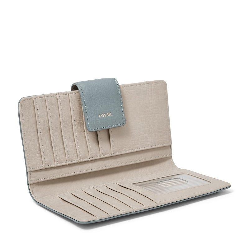 Logan RFID Tab Clutch Chambray
