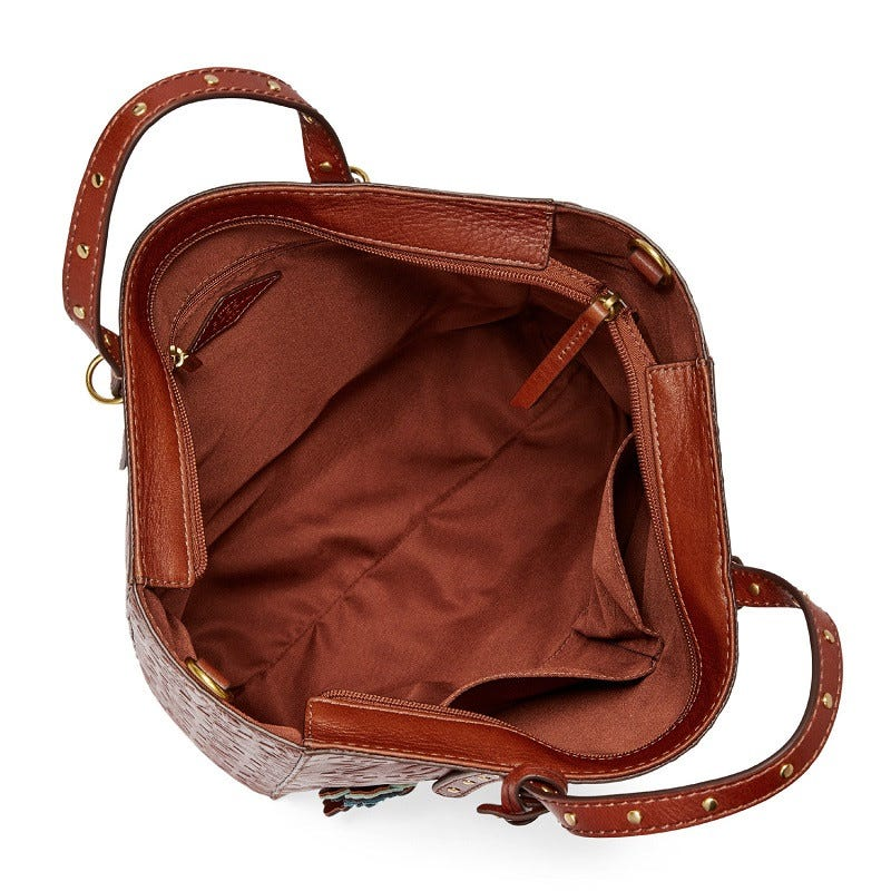 Camilla Convertible Backpack Brown Multi